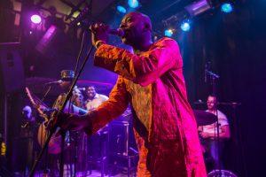 African musician soloist