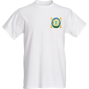 Mens basic t shirts classic full color S white frontside - Mens basic t-shirts classic full color S white_frontside